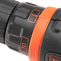 Perceuse visseuse sans fil Black & Decker BCD600C1S 12V-1,5Ah