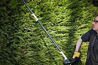 Outil de jardin multifonctions sans fil sur batterie Erbauer 18V, taille-haie, coupe-bordures, élagueuse (sans batterie)