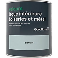 Laque boiseries et métal GoodHome Clontarf Velours 0,75L