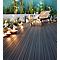 Lame de terrasse composite anthracite Neva L.220 x l.14,5 cm