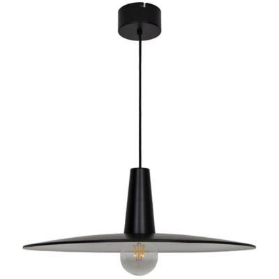 Suspension Hibonit E27 IP20 noir 58cm