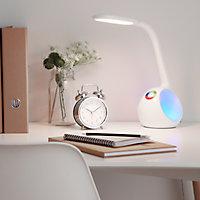 Lampe de bureau LED Ouhoro blanc