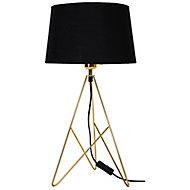 Lampe à poser Daitree E27 IP20 noir