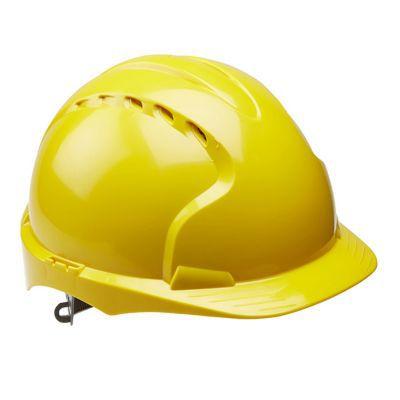 Casque de sécurité SITE 3101 Jaune   Castorama 9ef27b80c034