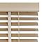 Store vénitien bois blanchi Marco 120 x 250 cm