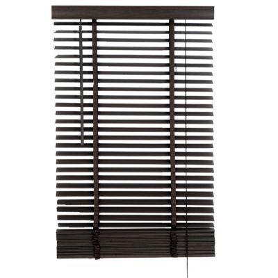 Store vénitien colours marco bois gris 140 x 250 cm