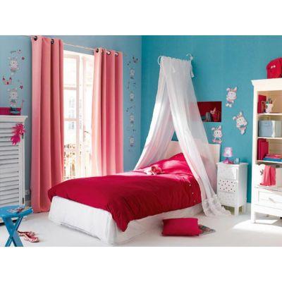 ciel de lit fer colours volut blanc castorama. Black Bedroom Furniture Sets. Home Design Ideas