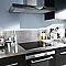 Plaque de cuisson induction 4 foyers COOKE & LEWIS CLIND1BK-C