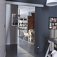 Porte coulissante verre miroir Geom Reflecto 73 cm