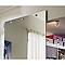 Porte coulissante verre miroir GEOM Symetry 95 cm