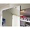 Porte coulissante verre miroir Geom Symetry 105 cm