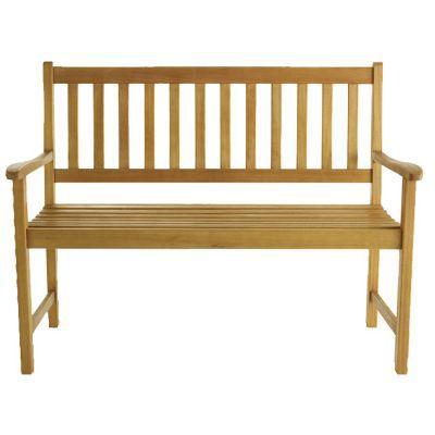 banc de jardin en bois aland castorama. Black Bedroom Furniture Sets. Home Design Ideas