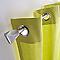 Kit barre à rideaux extensible IMLI chromé mat 120/210