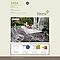 Table de jardin Saba beige pliante 110 x 70 cm