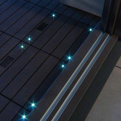 dalle balcon emboitable composite avec led blooma 30 x 30 cm castorama. Black Bedroom Furniture Sets. Home Design Ideas