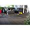 Lame de terrasse composite anthracite Blooma Dixi L.220 x l.14,5 cm