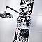 Carrelage mur décor cartoon 20 x 25 cm COLOURS Keïko