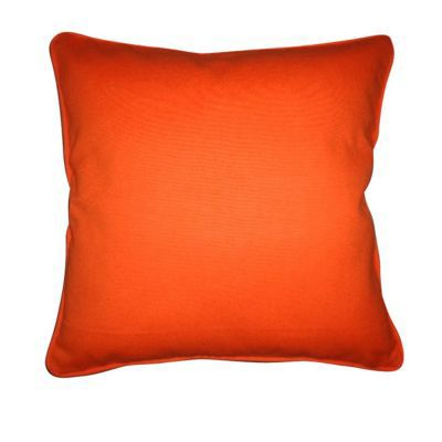 coussin zen orange 40 x 40 cm castorama. Black Bedroom Furniture Sets. Home Design Ideas
