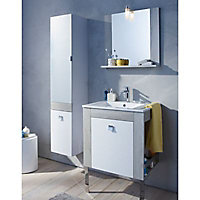 Miroir bois Cooke & Lewis Amazon 60 cm