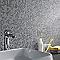 Mosaïque grise 31,5 x 31,5 cm Akira