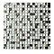 Mosaïque blanche 30 x 30 cm Benito
