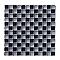 Mosaïque noire beige 30 x 30 cm Tobuko
