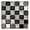 Mosaïque noire 29,7 x 29,5 cm Kosuke