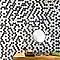 Mosaïque noire et blanche 31 x 28,6 cm Cuma