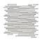 Mosaïque blanche 30 x 30 cm Nasseo