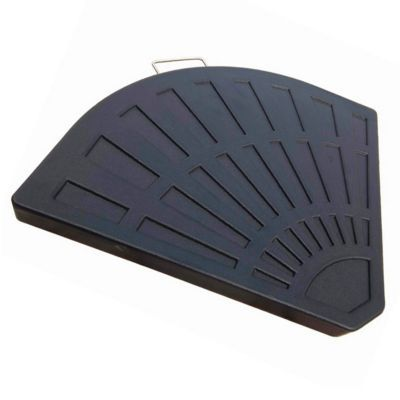 pied de parasol dalle beton blooma anthracite 16 kg. Black Bedroom Furniture Sets. Home Design Ideas
