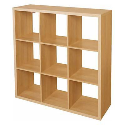 Etagere Modulable 9 Cubes Effet Chene Mixxit Castorama