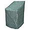 Housse de chaises empilables 1ER PRIX verte 80 x 65 x 90 cm
