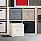 Boîte de rangement carrée en tissu Mixxit coloris taupe