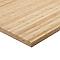 Plan de travail bambou brut 245 x 65 cm ép.38 mm (vendu à la pièce)
