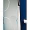Porte coulissante verre dépoli GEOM Circulus 83 cm