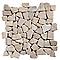 Mosaïque galets plats gris 32 x 32 SWABINA Marbre
