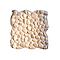 Galets ronds beige 30 x 30 cm SWABINA