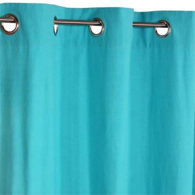 rideau colours zen turquoise 140 x 240 cm castorama. Black Bedroom Furniture Sets. Home Design Ideas