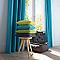 Rideau COLOURS Zen turquoise 140 x 240 cm