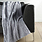 Plaid Furlane gris clair 130 x 160 cm