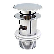 Bonde quick-clac 75 mm pour lavabo/vasque trop-plein Diall