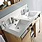 Plan vasque résine COOKE & LEWIS Massa 120 cm