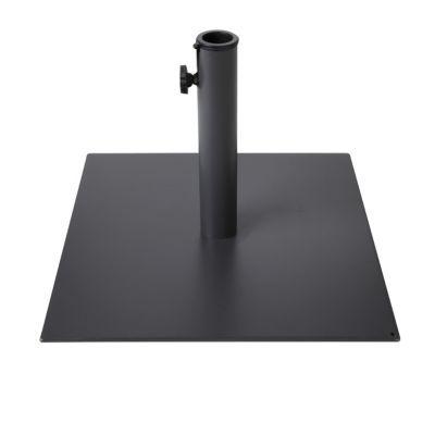 pied de parasol acier blooma garo castorama. Black Bedroom Furniture Sets. Home Design Ideas