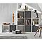 Étagère modulable 6 cases coloris blanc Mixxit