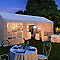 Tonnelle Blooma Betty 3 x 6 m blanche