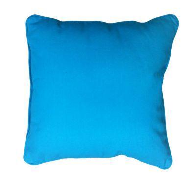 coussin zen bleu turquoise 40 x 40 cm castorama. Black Bedroom Furniture Sets. Home Design Ideas