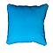 Coussin Zen Bleu turquoise 40 x 40 cm