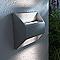 Applique extérieure BLOOMA Agon gris LED