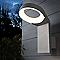 Applique extérieure Blooma Tenes gris LED