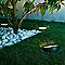 Spot extérieur à enterrer inclinable BLOOMA Alba noir h.24 cm